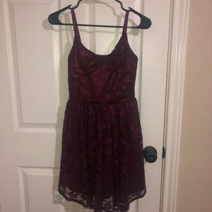 💎 MACYS MAROON DRESS